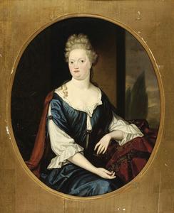 Portret van Rienkje Allegonda van Camstra ( -1719)