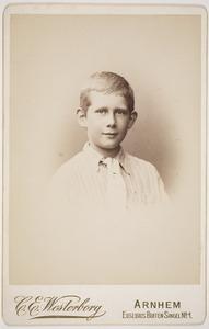Portret van Dirk Arnold Lamme (1883- )