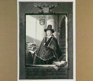Portret van Jan Six I (1618-1700), burgemeester van Amsterdam