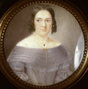 Portret van Louise Aleida Rambonnet (1814-1845)