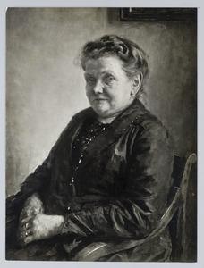 Portret van mevrouw IJ.