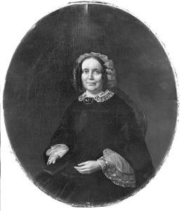 Portret van Nelly de Rijk-IJsbrandts