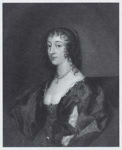 Portret van koningin Henriëtte Maria van Engeland