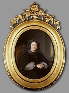 Portret van Sara Johanna Balthazarina van der Upwich (1790-1873)