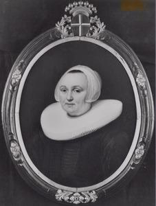 Portret van Maritge Jansdr Pesser (..-1649)