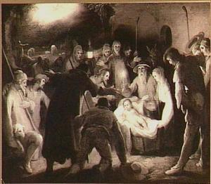 De aanbidding van de herders (Lukas 2:8-20)