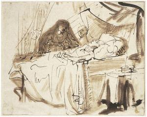 De zieke zoon van de weduwe van Sarefat (I Koningen 17:17)