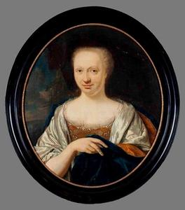 Portret van Catharina Wolthers (1697-1765)