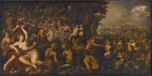 De huwelijk van Neptunus en Amphitrite
