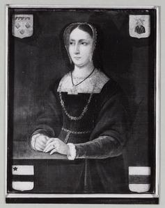 Portret van Christina van Angenendt (?-1554)