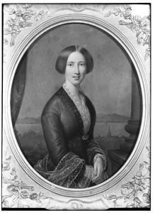Portret van Henriette Wilhelmina Elisabeth Melvil (1827-1876)