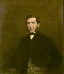 Portret van Louis Israels