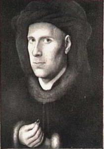 Portret van de edelsmid Jan de Leeuw (1401-?)