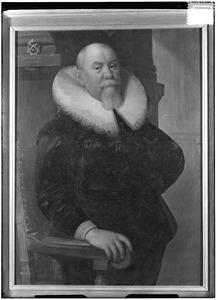 Portret van een man, mogelijk Stephan van Hattingh (?-?)