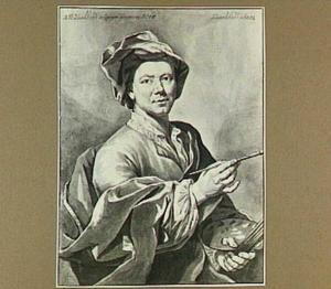 Portret van Johan Maurits Quinkhard (1688-1772)