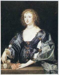 Portret van Anne Crofts, Countess of Cleveland, Lady Wentworth