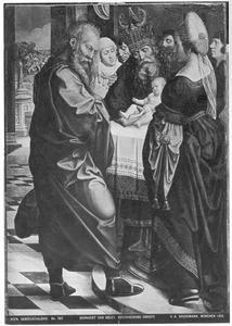 De besnijdenis (andere zijde: fragment van een Ecce Homo)
