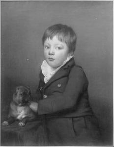 Portret van Haye van der Kooi, de zoon van de schilder (1780-1806)