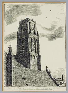 Toren der Groote- of St. Laurentiuskerk