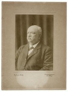 Portret van Egbert Broer Kielstra (1844-1920)