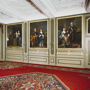 Feestzaal van kasteel Duivenvoorde te Voorschoten