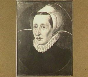 Portretbuste van een vrouw