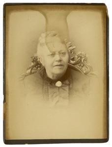 Portret van Elisabeth Christina Maria van Hall (1826-1894)