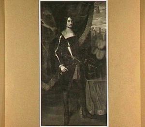 Portret van Frederik Adolf van Reede (1614-1638)