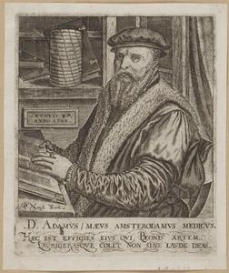 Portret van Adam Meeus (1532- )