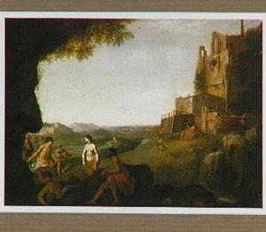 Arcadisch landschap (met niet-geïdentificeerd onderwerp)
