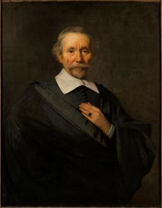 Zelfportret van Caesar van Everdingen (?-1678)