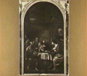 De maaltijd in Emmaus