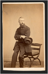 Portret van de schilder Barend Leonardus Hendriks (1830-1899)