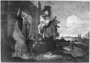 Elia en de houtsprokkelende weduwe van Sarefat (1 Koningen 178-16)