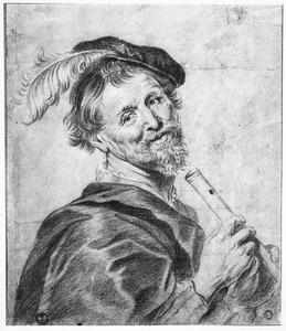 Man met een fluit