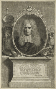 Portret van Aegidius van den Bempden (1667-1737)