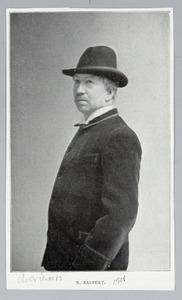 Portret van de schilder Nicolaas Bastert
