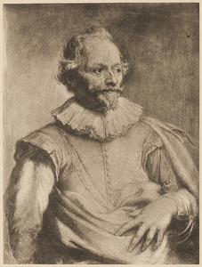 Portret van Paulus van Halmale (1586-1643)