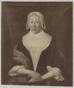 Portret van Eva Justine von Schweinitz (1697-1789)