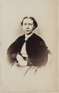Portret van een vrouw, waarschijnlijk Agatha Maria Schneither (1826-1901)
