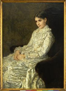 Portret van Nanette Enthoven-Enthoven (1852-1883)