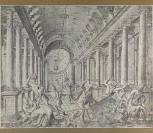 Christus verdrijft de wisselaars uit de tempel (Johannes 2:13-17)