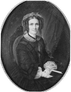 Portret van Josina Aleijda Antoinetta van Thije Hannes (1801-1867)