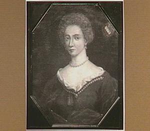 Portret van Margaretha Elisabeth van Oer, echtgenote van Hendrik Willem van Westerholt