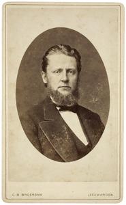 Portret van Jan Frederik Lodewijk Müller (1839-1895)