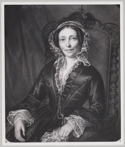 Portret van Hermanna Aleida toe Laer (1799-1854)