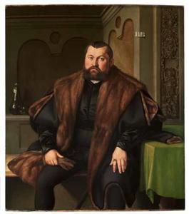 Portret van Sigismund Baldinger (1510-1558)