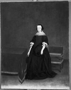 Portret van Neeltje van der Cruysse (1612- )