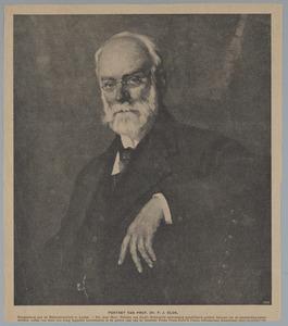 Portret van Prof. Dr. P.J. Blok