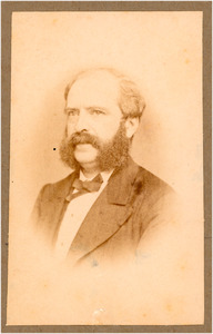 Portret van Johan Anthonie Balthazar Stroebel (1821-1905)